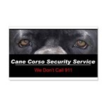 Cane Corso Security Service 22x14 Wall Peel