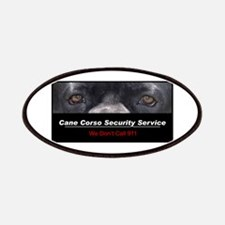 Cane Corso Security Service Patches