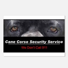 Cane Corso Security Service Postcards (Package of