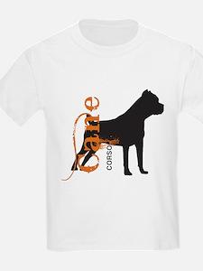 Grunge Cane Corso Silhouette T-Shirt