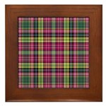 Tartan - Drummond of Strathallan Framed Tile