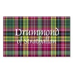Tartan - Drummond of Strathallan Sticker (Rectangl