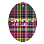 Tartan - Drummond of Strathallan Ornament (Oval)
