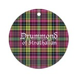 Tartan - Drummond of Strathallan Ornament (Round)