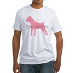 Diamonds Cane Corso Diva Fitted T-Shirt