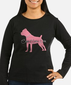 Diamonds Cane Corso Diva T-Shirt
