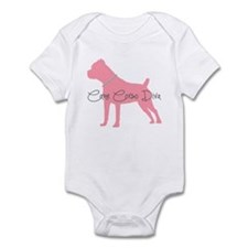 Diamonds Cane Corso Diva Infant Bodysuit