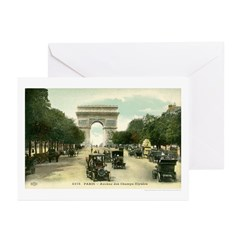 Spring in Paris Greeting Cards (Pk of 20)