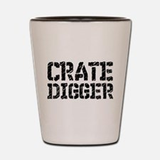 Crate Digger Shot Glass