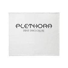 Cute Disclosure Throw Blanket