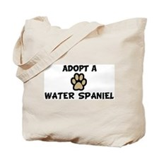 Adopt a WATER SPANIEL Tote Bag