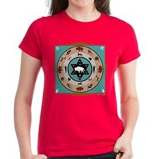 White Buffalo Medicine Wheel Tee