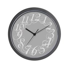 Cool Scribbl Wall Clock