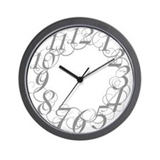 Cute Scribbl Wall Clock
