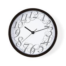 Funny Scribbl Wall Clock