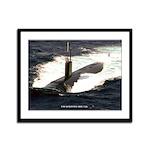 USS SCRANTON Framed Panel Print