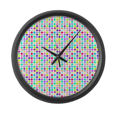 Numberless Large Wall Clock