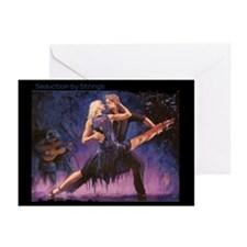 Seduction by Strings Greeting Cards (Pk of 20)