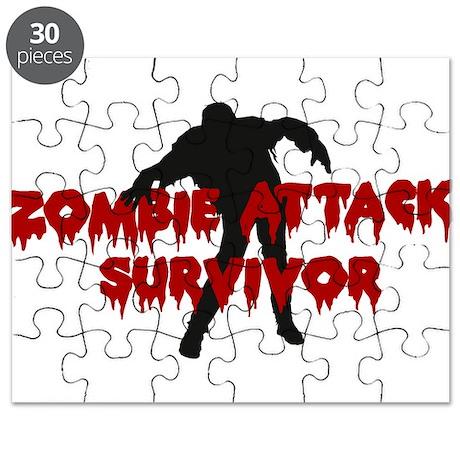 Zombie Attack Survivor Puzzle
