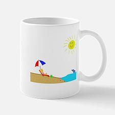 Summer Beach Mug