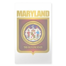 """Maryland Gold"" Decal"