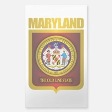 """""""Maryland Gold"""" Decal"""