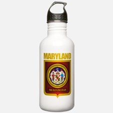 """""""Maryland Gold"""" Water Bottle"""