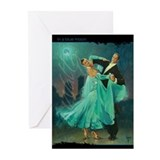 Ballroom dancing Greeting Cards (10 Pack)