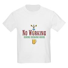 No Working T-Shirt