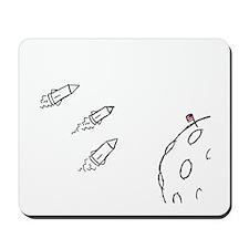 Moon Rockets Mousepad
