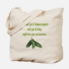 Jalapeno Burn Tote Bag