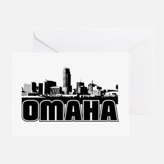 Omaha Skyline Greeting Card