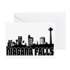 Niagara Falls Skyline Greeting Card