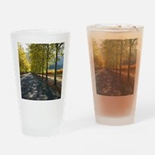 Turning Leaves Wine Country Drinking Glass