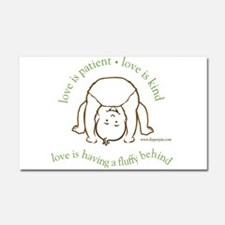 Unique Cloth diaper Car Magnet 20 x 12