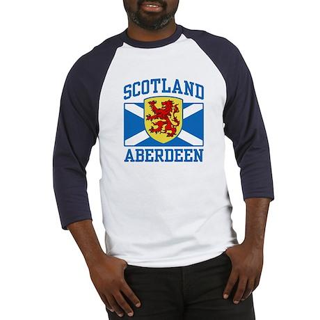Aberdeen Scotland Baseball Jersey