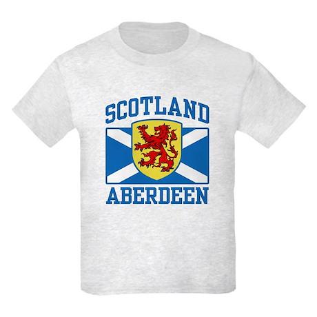 Aberdeen Scotland Kids Light T-Shirt