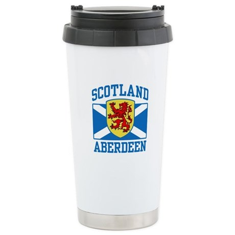 Aberdeen Scotland Stainless Steel Travel Mug
