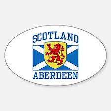 Aberdeen Scotland Decal