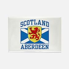 Aberdeen Scotland Rectangle Magnet