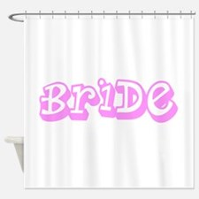 I'm Getting Married Pink Bride Shower Curtain