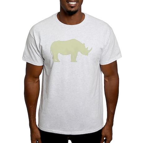 rhino_ltgrn T-Shirt