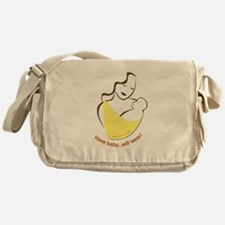 Unique Attachment parenting Messenger Bag