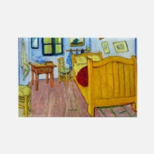 Van Gogh - Bedroom at Arles Rectangle Magnet