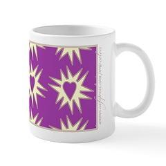 Purple Love Explosion Mug