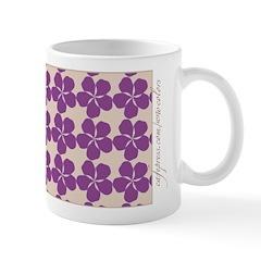Periwinkle plum Mug