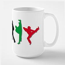 Tae Kwon Do Kicks Large Mug