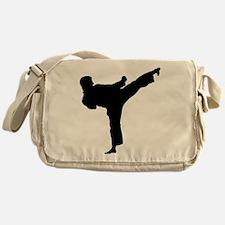 Tae Kwon Do Kicks Messenger Bag
