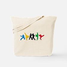 Tae Kwon Do Kicks Tote Bag
