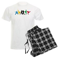 Tae Kwon Do Kicks Pajamas